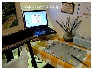 Adele's Work Area 3-25-16