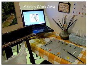 Adele's Work Area 3-25-16
