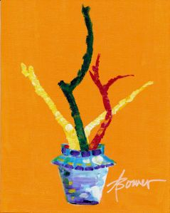 27-Painted Sticks