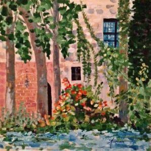 5-Blue Window- Rhodes Old Town