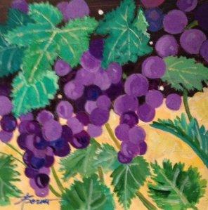 Grapes at Tharri Monastery