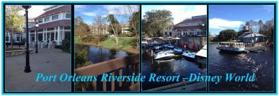 Collage of Port Orleans Riverside