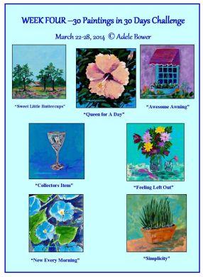Week 4-Paintings 22-28