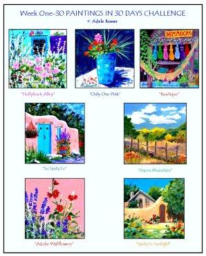 Week One Collage 3-8-14 blog