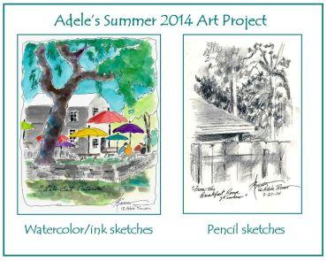 Adele's Summer 2014 Art Project