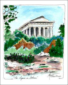 8-The Agora in Athens