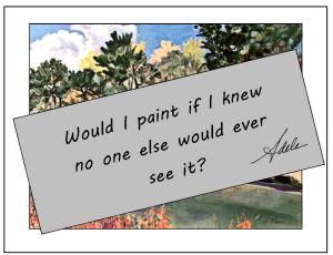 Would I paint....6-19-15