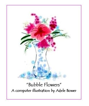 Bubble Flowers 7-9-15