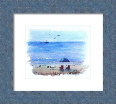 Seagulls framed