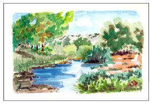 25-Wide Spot in the Creek